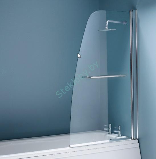 купить стеклянную шторку для ванны в минске