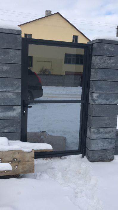Наружное ограждение из стекла Минск