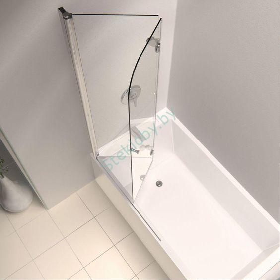 стеклянная шторка для ванной купить минск
