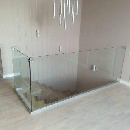 стеклянное ограждение в минске
