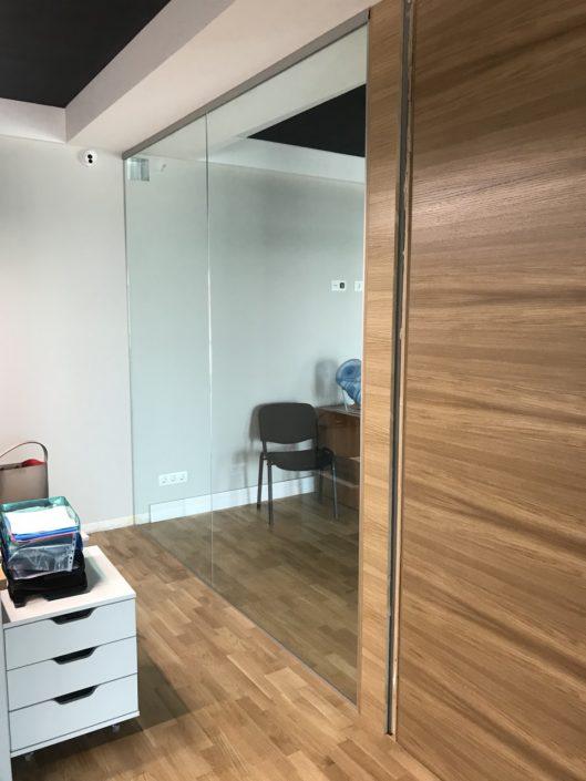 стеклянные перегородки для офиса цена
