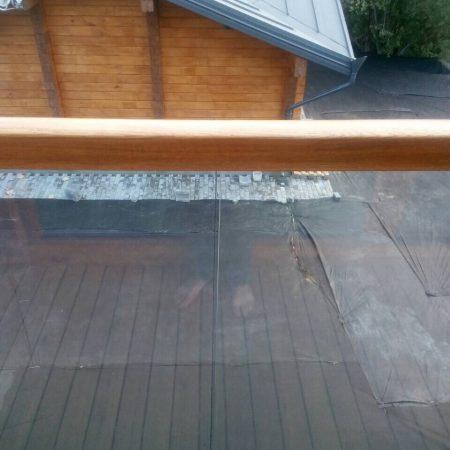 Стеклянные ограждения балкона