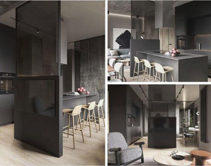 стеклянные-перегородки-для-зонирования-пространства-в-комнате